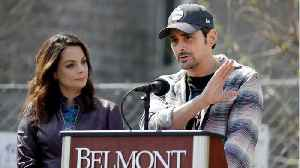 Brad Paisley And Kimberly Williams-Paisley Break Ground On Free Grocery Store [Video]