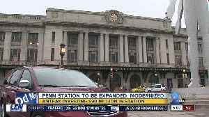 Amtrak to invest $90 Million for Baltimore Penn Station improvements [Video]
