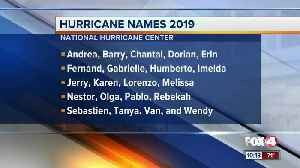 Hurricane Center releases 2019 Hurricane Season names [Video]