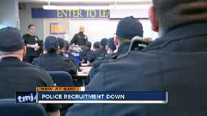 MPD sees decreasing trend in recruitment [Video]
