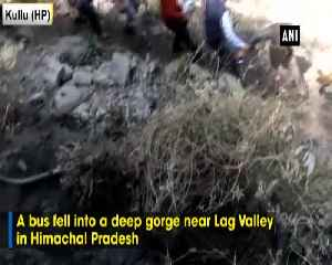 1 dead around 40 injured after bus falls into deep gorge in HPs Kullu [Video]