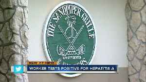 Food service worker at Sandpiper Grille tests positive for hep A, Department of Health says [Video]