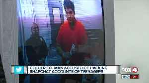 Collier man accused of hacking snap chat accounts [Video]