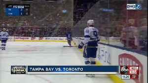 Steven Stamkos leads Tampa Bay Lightning over Toronto Maple Leafs 3-1 [Video]