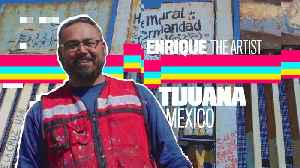 Anti-Hate Warrior: How Enrique is changing the Border Wall [Video]