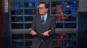 Stephen Colbert: 'I know You're Not Meant To Judge A Book By Its Orange Leathery Cover' [Video]