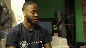Raheem Sterling gives 500 children a dream day at Wembley [Video]