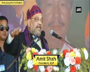 BJP brought peace in Northeast Amit Shah [Video]