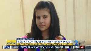 Search continues for hit-and-run driver who killed 12 y/o girl [Video]