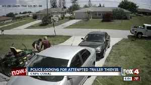 Police looking for attempted trailer theft suspects in Cape Coral [Video]