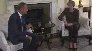 Theresa May Asks The EU's Donald Tusk For Brexit Delay [Video]
