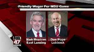 Friendly wager for MSU game [Video]