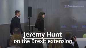 Jeremy Hunt: PM will try to avoid European elections despite Brexit extension [Video]