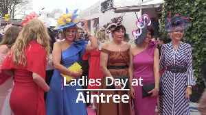 Aintree turns on the style for Ladies Day [Video]