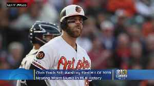 Still Awaiting First Hit Of 2019, Chris Davis Nears Another Embarrassing MLB Record [Video]