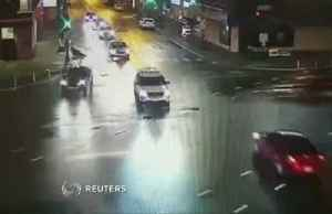 Driver smashes into police car: video [Video]