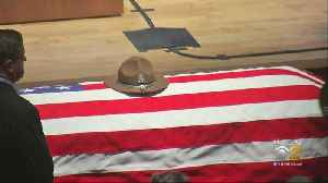 Funeral For ISP Officer [Video]