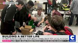 High School Robotics Team Builds Wheelchair for Disabled Toddler [Video]