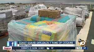 Coast Guard offloads 7 tons of cocaine [Video]