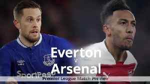Everton v Arsenal: Premier League match preview [Video]