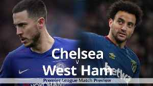 News video: Chelsea v West Ham: Premier League match preview