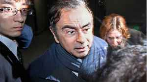 Tokyo Court Rejects Appeal, Approves 10-Day Detention For Ghosn [Video]