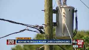 Hurricane-proofing Florida? New state bill could bring in more underground power lines [Video]