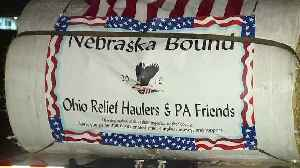 Ohio Relief Haulers making the long trek to Nebraska to help farmers devastated in Midwest flooding [Video]