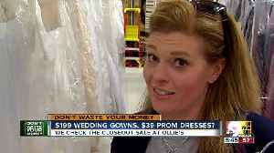 Is $200 for a wedding dress too good to be true? [Video]