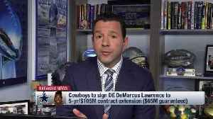 NFL Network Insider Ian Rapoport: Two players who will benefit most from Dallas Cowboys defensive end DeMarcus Lawrence's new de [Video]
