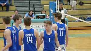 Exeter vs. Daniel Boone Boys' Volleyball Highlights [Video]