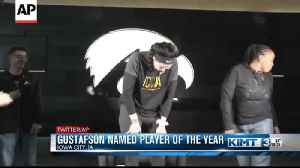 Gustafson named AP Player of the Year [Video]