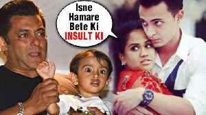 Arpita Khan ANGRY REACTION On Ahil Sharma Being Called POLIO Affected [Video]