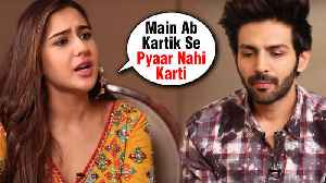 Sara Ali Khan NOT INTERESTED In Kartik Aaryan Anymore? | Love Aaj Kal 2 [Video]
