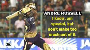 IPL 2019 | I know, am special, but don't make too much out of it: Russell [Video]