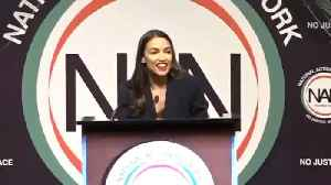 Alexandria Ocasio-Cortez Says She's 'Proud To Be A Bartender' [Video]