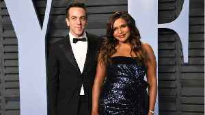 Mindy Kaling And B.J. Novak Spotted Together At Lakers Game [Video]