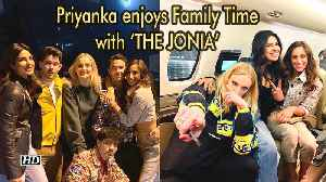 Priyanka Chopra enjoys Family Time with 'THE JONIA' [Video]