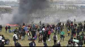 False rumours spark migrant protests in Greece [Video]