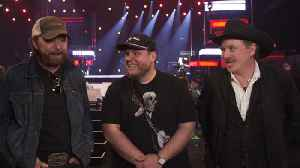 Luke Combs Is Living The Dream Performing With Brooks & Dunn At The ACMs [Video]