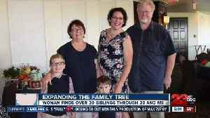 Ridgecrest woman finds 22 siblings through DNA test [Video]