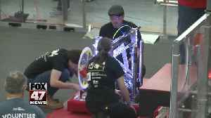 Mason hosts robotics competition in new facility [Video]