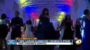 Rady Children's Hospital cancer survivors celebrate prom [Video]