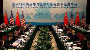 China, U.S. Made 'New Progress' In Trade Talks This Week [Video]