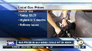 Gas prices in San Diego could soon hit $4 [Video]