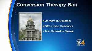 Bill Banning Conversion Therapy Heads To Gov. Polis' Desk [Video]