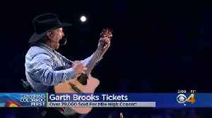 Garth Brooks Sets Ticket Record For Denver [Video]