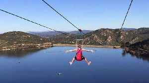 Mayor`s April Fool`s Prank About New Zip Line is Still Tricking Residents [Video]