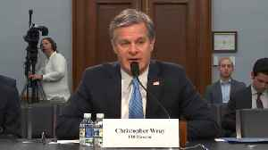 FBI Director Christopher Wray on Threat of White Supremacy [Video]