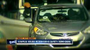 MUPD, Uber send safety reminders when using ride share apps [Video]